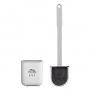 Escova Sanitaria Privada Vaso de Silicone de Limpeza Banheiro