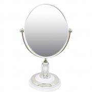 Espelho Portatil Dupla Face Aumento Cabelo Maquiagem Mesa Penteadeira Bancada Decoraçao Zoom