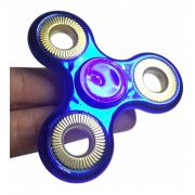 Hand Spinner Fidget De Metal Brilho Ansiedade Cromado