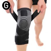 Joelheira 3D Elastica bandagem Compressão Exercício Joelhos Estabilidade Academia Apoio Suporte Articulação Fitness