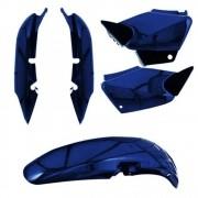 Kit Carenagem Moto Titan 2000 Paralama Tampa Rabeta Honda