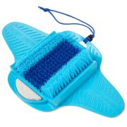 Limpa Pes Escova Pedra Pome Esfoliante Chuveiro Ventosa Box Banheira