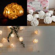 Luminaria Buque 15 Anos Flores Led Festa Casamento Decoraca