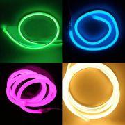Mangueira Led Neon 2 Metros Natal Festa Evento Conector 110v
