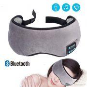 Mascara de Dormir Bluetooth com Fone de Ouvido Tapa Olho Sono Tranquilo Musica