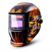 Mascara de Solda Solar Anti Reflexo Escurecimento Automatico Epi Proteçao Uv Soldador Eletrodo