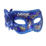 Mascara Fantasia Carnaval kit 6 uni Festa Eventos Baile Azul