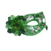 Mascara Fantasia Carnaval kit 6 uni Festa Eventos Baile  Verde