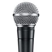 Microfone Dinamico com fio Musica Cantar Studio Youtuber SM-58