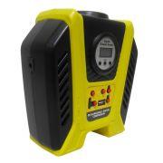 Mini Compressor Ar Recarregavel USB Carro Digital Pneu Bola Automotivo Portatil