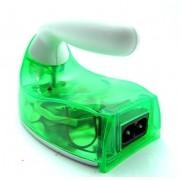 Mini Ferro De Passar Roupas Praticidade Portatil Bivolt Para Viagem e Camping Verde (S-30757)