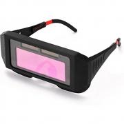 Oculos de Solda Solar Automatico Protecao Epi Anti Reflexo Escurecimento Uv Soldador Eletrodo