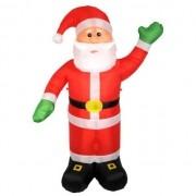 Papai Noel Inflavel Grande Enfeite Para Decoracao De Natal Casa Natalino Com 2,40m (BSL-36041-8)