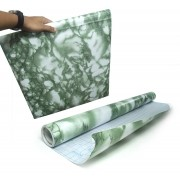 Papel de Parede Marmore Auto Adesivo Verde Vinilico Lavavel (bsl-42079-1-F)