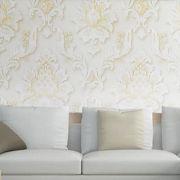 Papel De Parede Texturizado Luxo 10 metros x 53cm Lavavel Kit 6 uni Decorativo Sofisticado