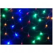 Pisca Pisca Rede 120 Led's de Natal Colorido Decoração Natalino (JA-81115 CL)