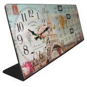 Relogio Calendario De Mesa Paris Vintage Retro Decoracao (XIN-06)