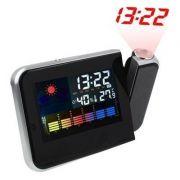Relogio com Projetor de Hora Despertador e Medidor de Temperatura Led (DS-8190 / BSL-REL-53) *NA