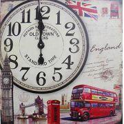 Relogio De Parede Grande Vintage Retro Decoracao Inglaterra (XIN-05)