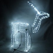 Rena de Natal com Movimento Luz Festa Natalina Grande 110v