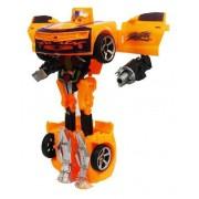 Robo Transforma Boneco Carro Brinquedo Infantil Articulavel