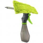 Rodo Mop Limpa Vidro 3 em 1 Spray Borrifador Janelas 250Ml Microfibra Espelhos