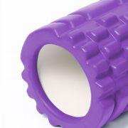 Rolo Massagem Miofascial Roller Foam Liberaçao Roxo Yoga Pilates
