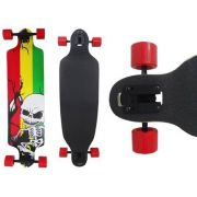 Skate Longboard Abec 11 Rebaixado Truck Invertido Caveira (SKT-6)