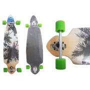 Skate Longboard Truck Invertido Abec 11 Cor Verde (SKT-5)