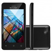 Smartphone Celular Multilaser Quad Core 4 Pol Dual Chip 3g