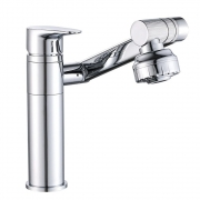 Torneira Luxo 360º Monocomando  Misturador Banheiro Articulada Lavabo Lavatorio
