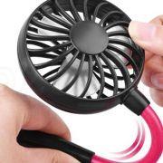 Ventilador USB Bateria Lazer Esportes Mini Portatil Pendurar Pescoço