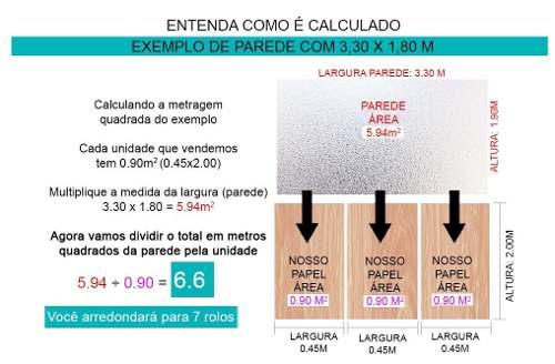 Papel De Parede Kit Com 8 Unid Adesivo Vinilico Pedra Rolo