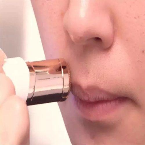 Depilador Batom Aparador Facial De Pelos Pele Portatil (34955)