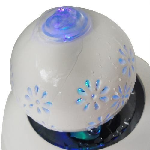 Fonte De Ceramica Quedas De Agua Decorativa Cascata Luz (FT-D)