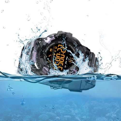 Relogio Prova Dagua Smartwatch G Shock Esportivo Bluetooth (BM18)