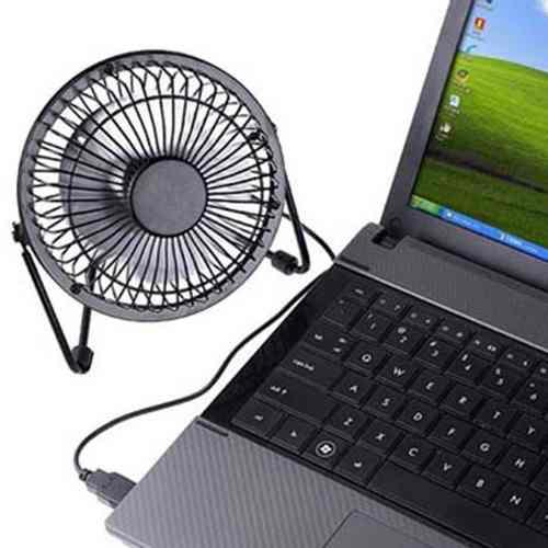 Mini Ventilador Para Notebook Usb Forte Silencioso Portatil (JA90393)