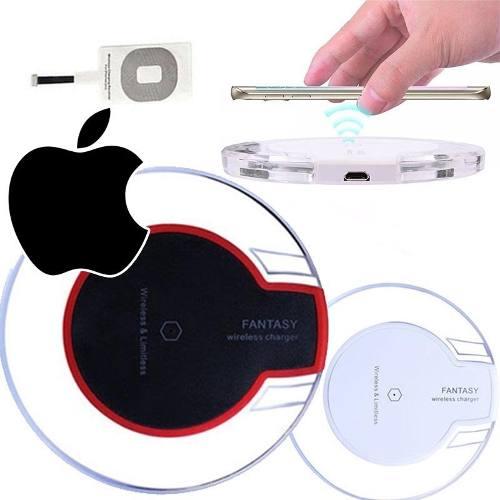 Carregador Qi Para Iphone Wireless Inducao Sem Fio Celular