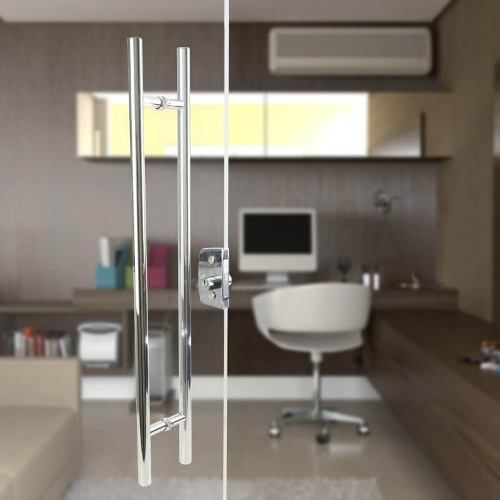 Puxador Porta 1 Metro E 20 Cm Aco Inox Casa Porta Decoração