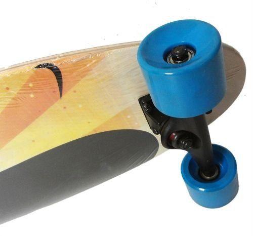 Longboard Skate Abec 9 Completo Rolamento Shape Rodas Modelo B (SKT-9)