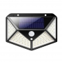 Luminaria Solar Sensor de Movimento Presença Prova d'Agua Iluminaçao Parede LED 3 Funçoes Lampada