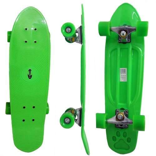 Skate Longboard Grande Retro Abec 7 Verde (SKT-13)