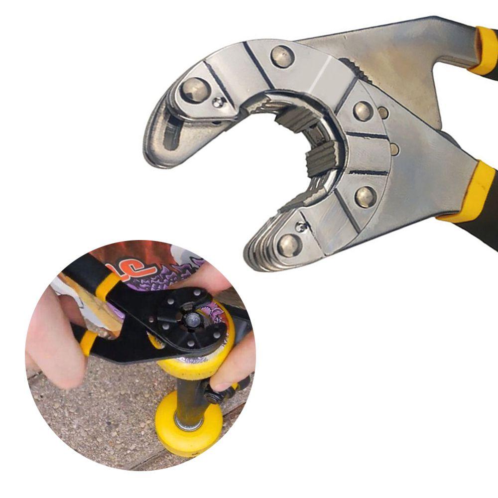 Alicate Chave Boca Universal Wrench 14 Em 1 Aperto Reparo Ferramenta Conserto