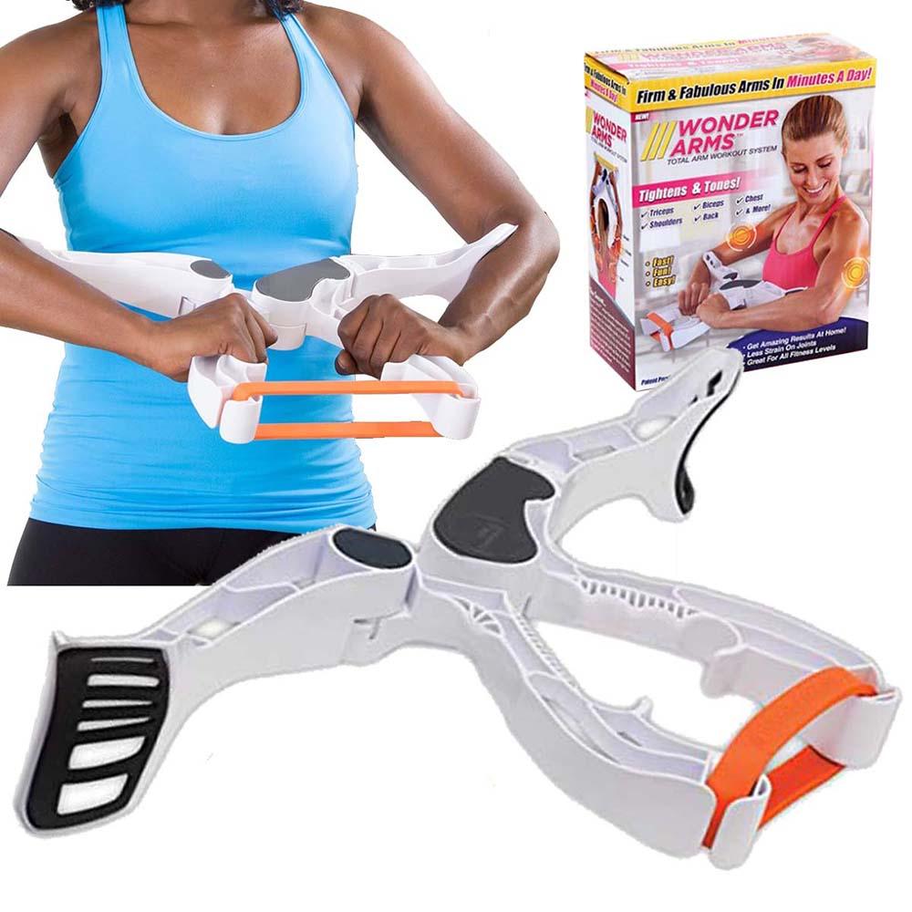 Aparelho De Exercicio Wonder Arms Para Braco Biceps Elastico Fitness Malhacao Workout (88839 /  88838 / mc40731)
