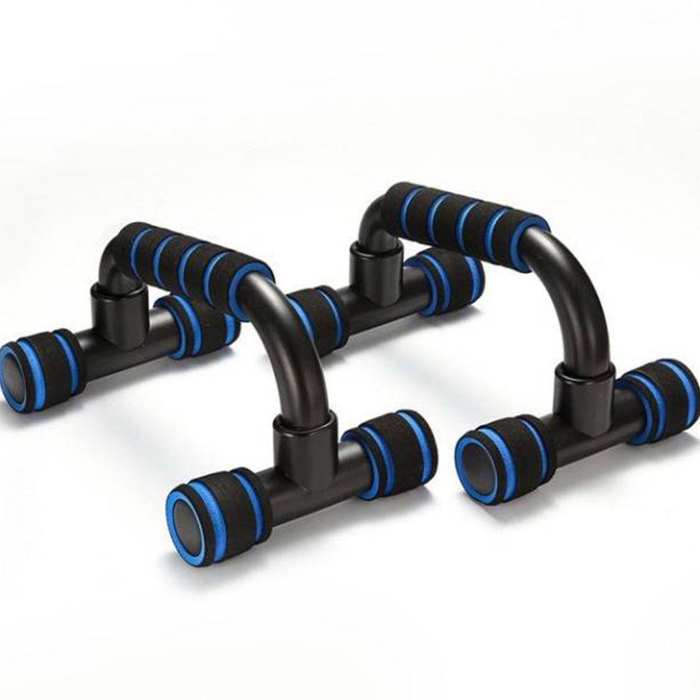 Apoio Fixo Braço Flexao Exercicios Fortalecimento Fit Musculaçao Azul