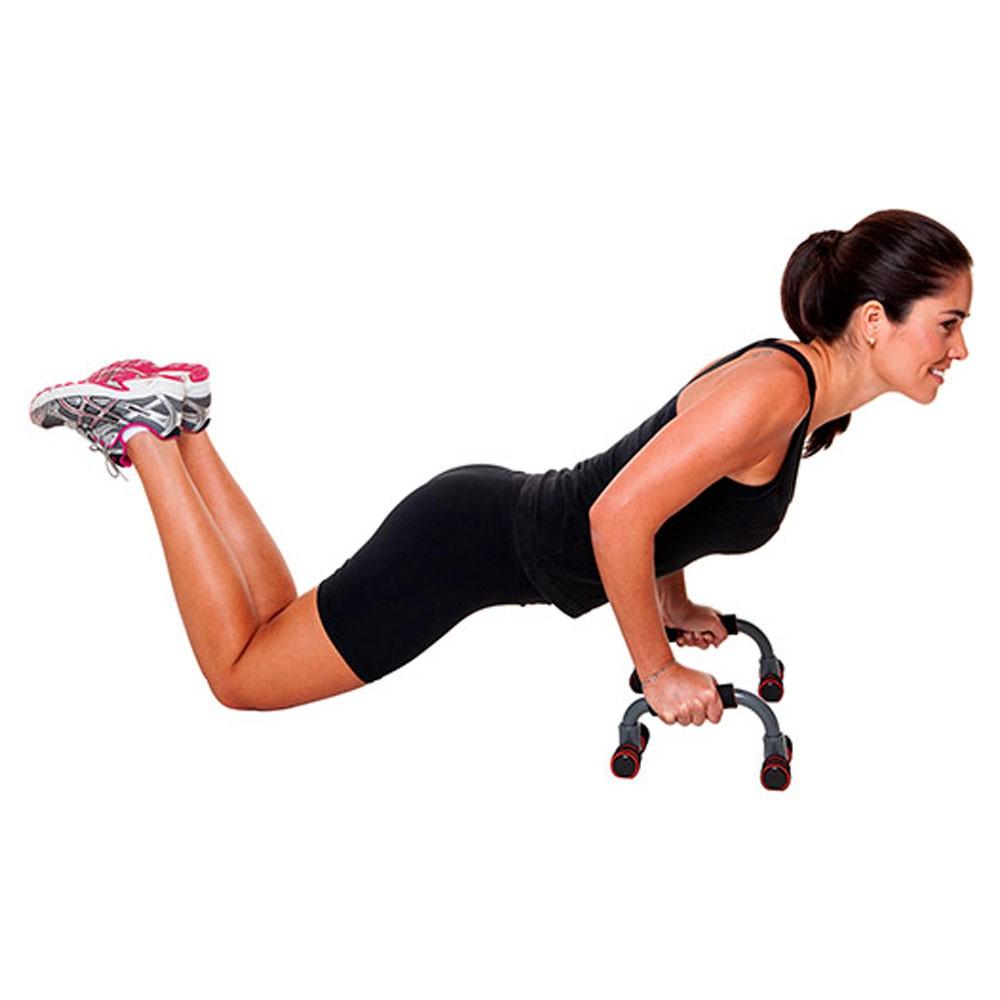 Apoio Flexao Fixo Academia em Casa Braço Fortalecimento Exercicios Tonificaçao Fitness Musculaçao