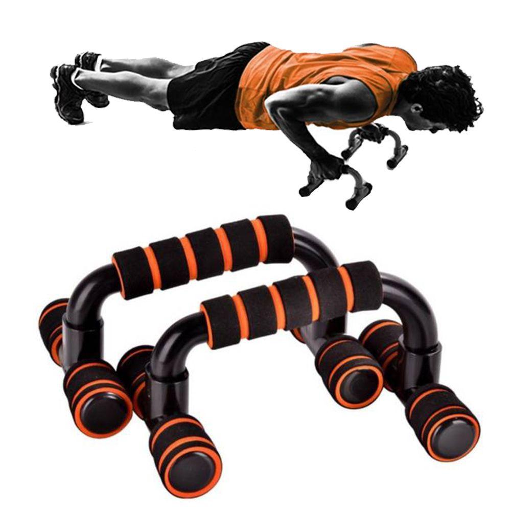 Apoio Flexao Fixo Braço Musculaçao Fortalecimento Exercicios Fit Azul Ou Laranja
