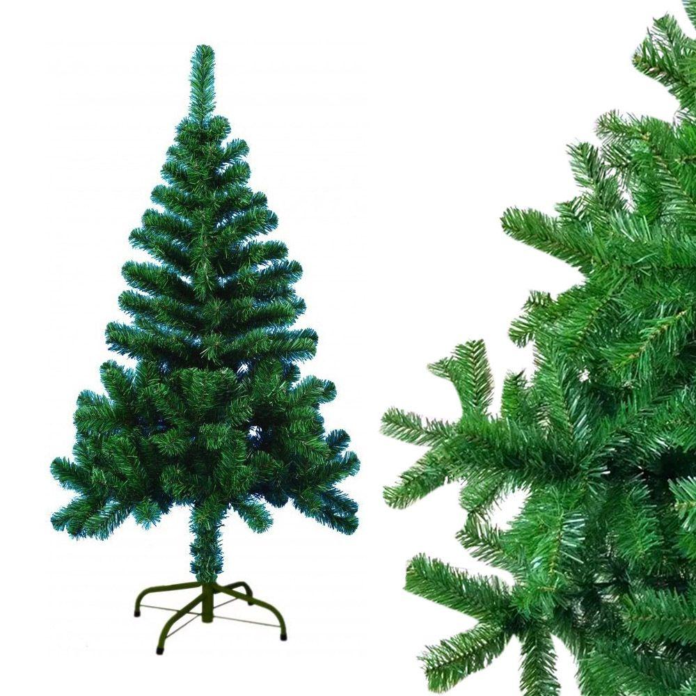 Arvore Natal Pinheiro 120Cm Decoraçao Natalina Verde 220 Galhos