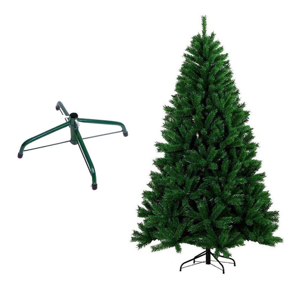Arvore de Natal Pinheiro 180Cm Decoraçao Natalina Verde 550 Galhos