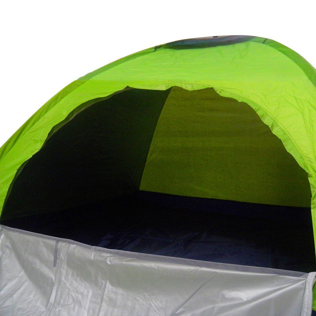 Barraca de Camping 4 Pessoas Esporte Lazer Acampamento 2 Metros